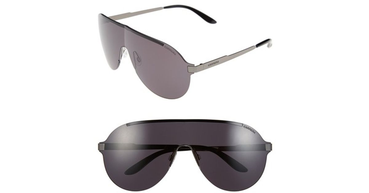 d2f696c8a68d Lyst - Carrera 135mm Shield Sunglasses in Black for Men