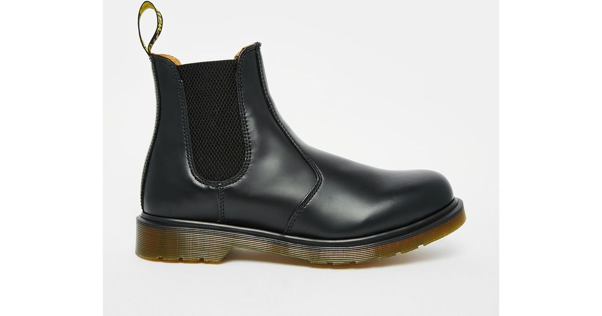 dr martens 2976 chelsea boots in black for lyst