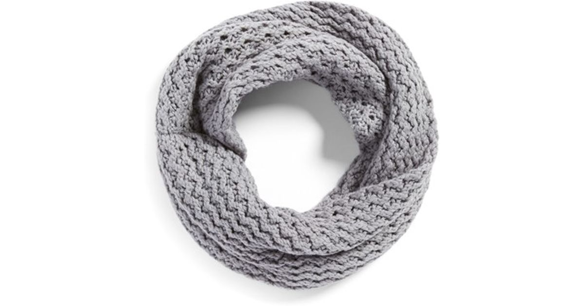 Lyst - Ugg \'sequoia\' Twisted Knit Infinity Scarf in Gray