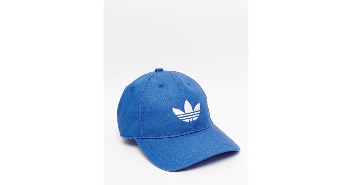 Lyst - adidas Originals Cap In Blue Aj8942 in Blue for Men e257423f7b4