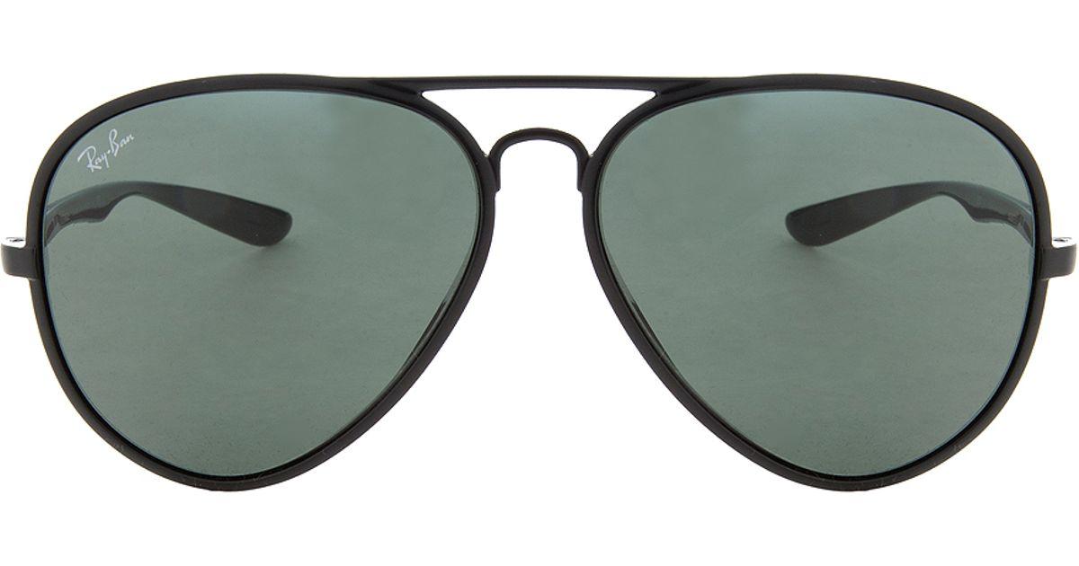 ed36fcf4b6 Lyst - Ray-Ban Aviator Light Force Sunglasses in Black for Men