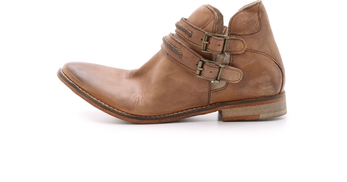 c58364f30bf4 Lyst - Free People Braeburn Ankle Boots in Brown