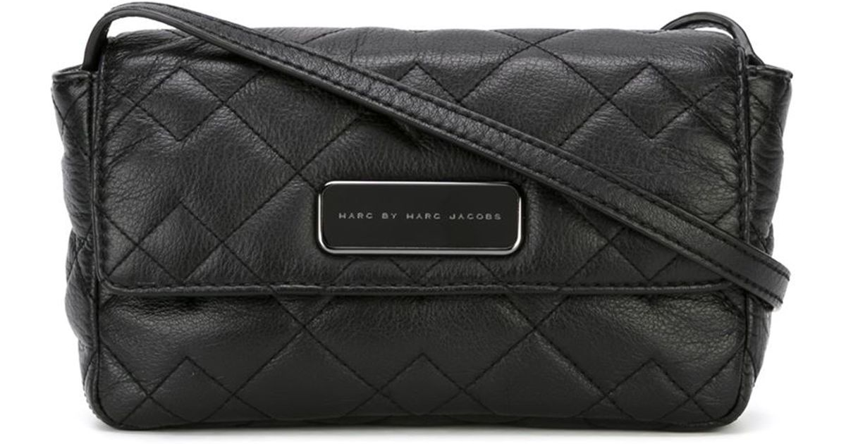 Marc by marc jacobs 'Crosby Quilt Julie' Crossbody Bag in Black   Lyst : marc jacobs quilted crossbody bag - Adamdwight.com