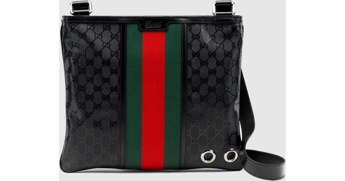 6339807438267a Gucci 500 By Gg Imprimé Messenger in Green - Lyst
