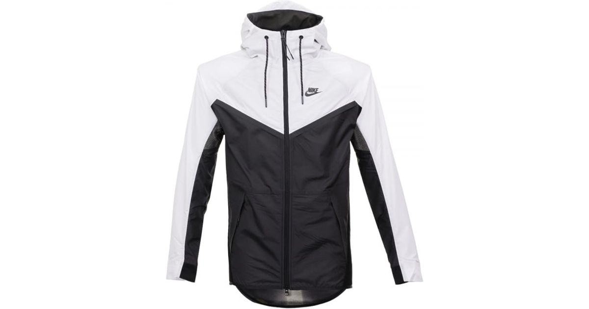Nike Tech Hypermesh Windrunner BlackWhite Jacket 826068011 for men