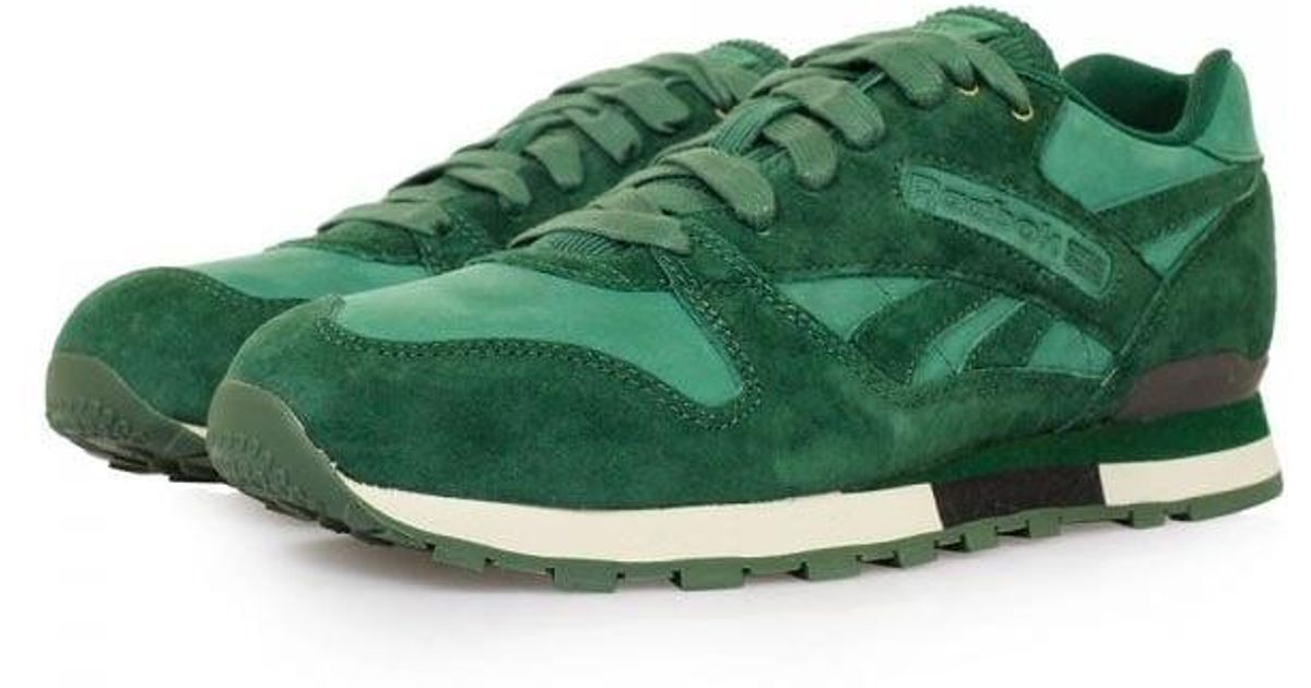 Lyst - Reebok Classic Phase Ii Bc Dark Green Shoes in White for Men caafc37af7