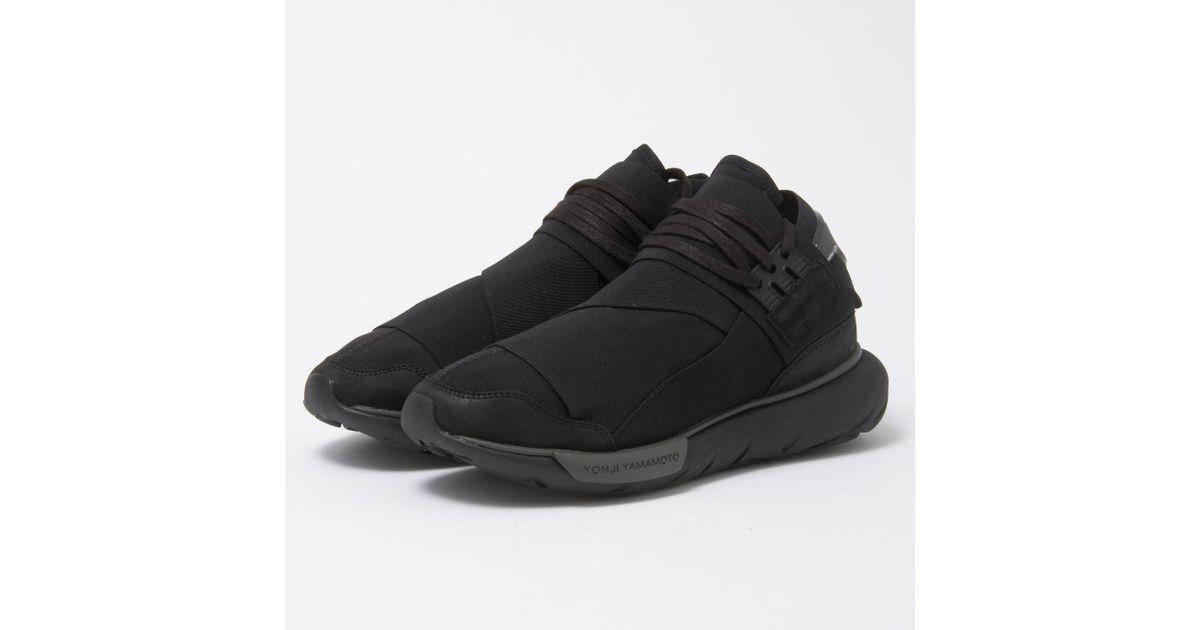 23a103cc5b671 Lyst - Y-3 Qasa High - Core Black in Black for Men