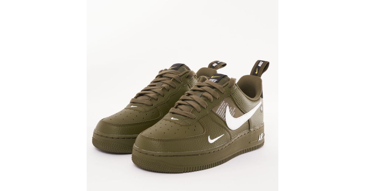 Lyst Nike Air Force 1 '07 Lv8 Utility in in in Grøn 260502