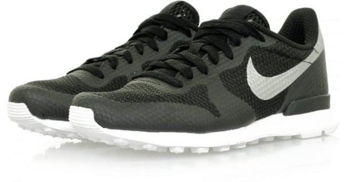 f9401162e5e ... order lyst nike internationalist ns black metallic silver shoe in brown  for men b311c 037e3