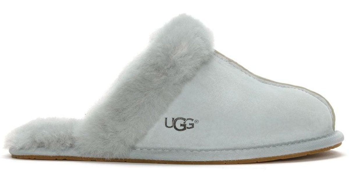 b1dd5b714e9 UGG Women S Scuffette Ii Grey Violet Shearling Slippers in Gray - Lyst