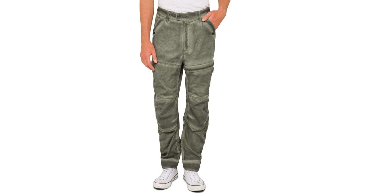 84c86431 G-Star RAW Rackam Us Tapered Cargo Pants in Green for Men - Lyst
