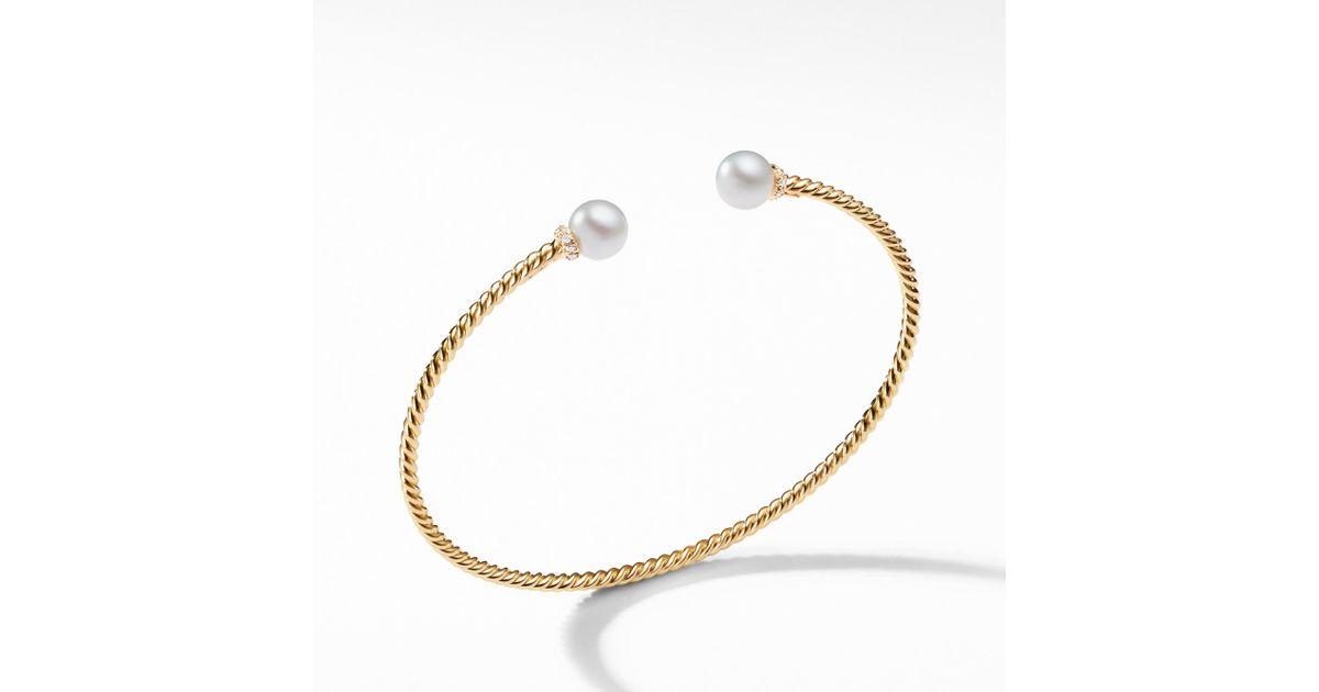 Yurman Pearl Bracelet Alert Bracelet