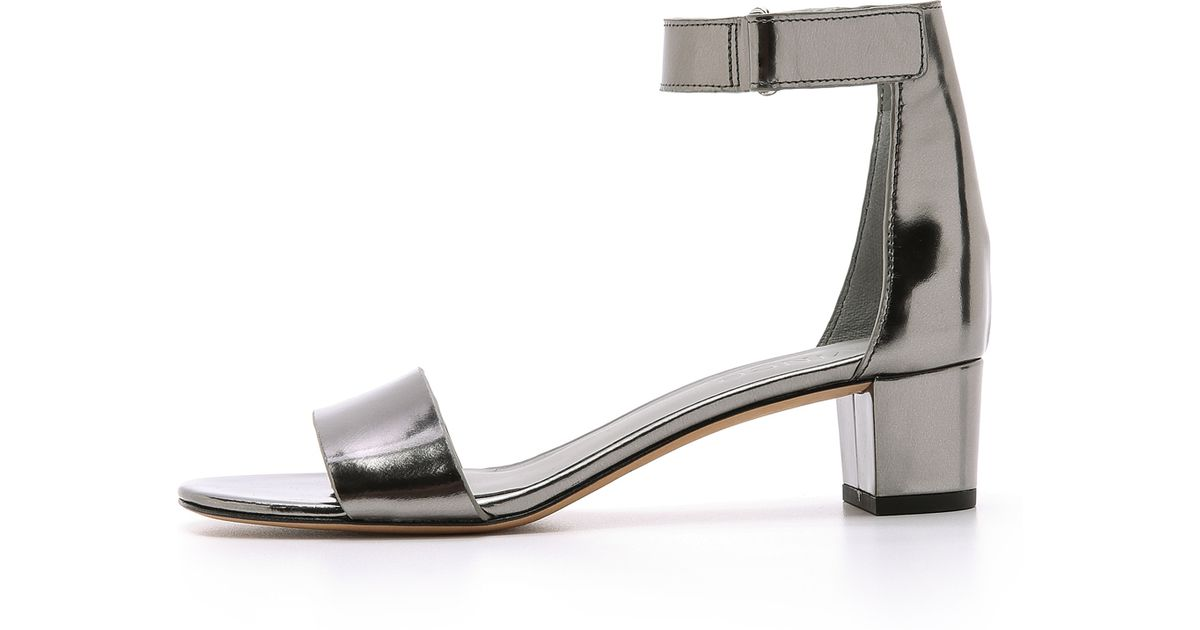 ade69a8186f Lyst - Vince Vince - Pewter in Metallic