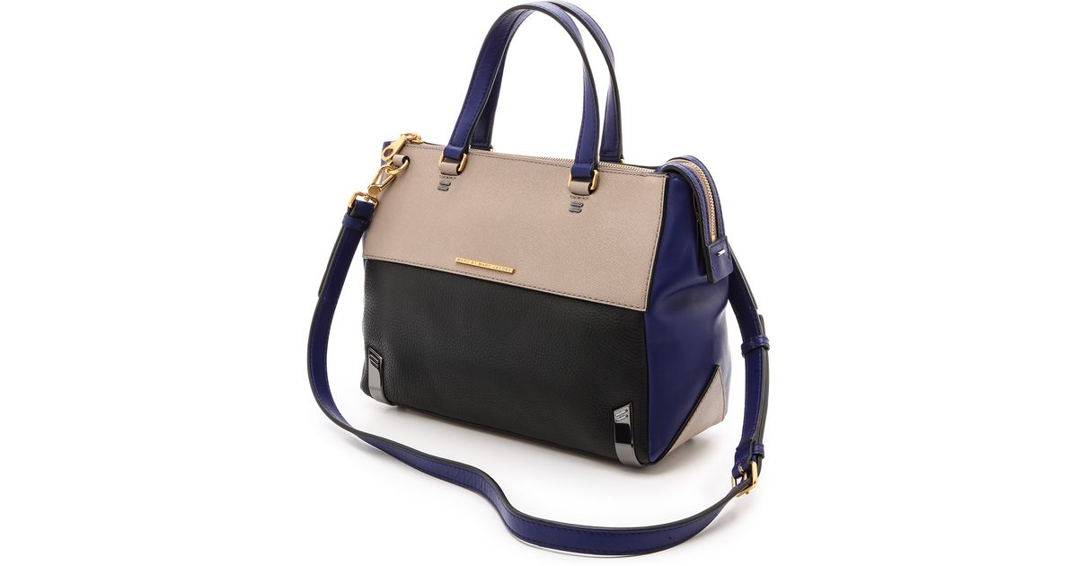 e8b854b2120d Marc By Marc Jacobs Sheltered Island Satchel Cement Multi - Lyst