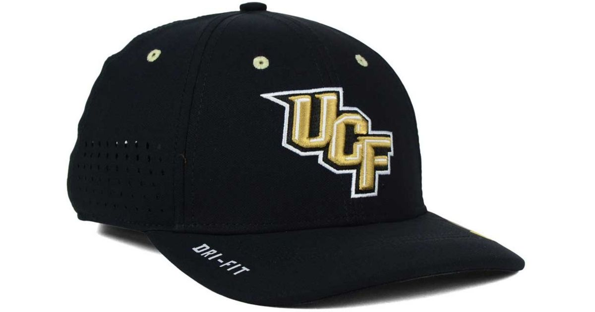 089551aa1042c ... france lyst nike ucf knights sideline cap in black for men 41303 3c70a  ...