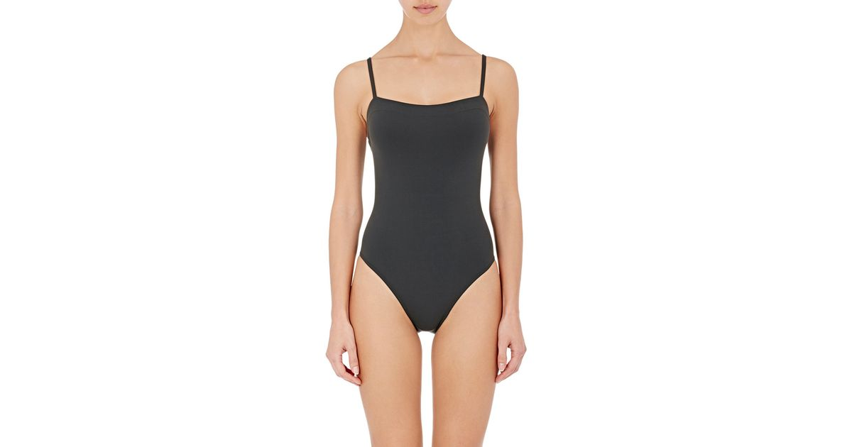 d7dabfe572dce Eres Aquarelle One-piece Swimsuit in Black - Lyst