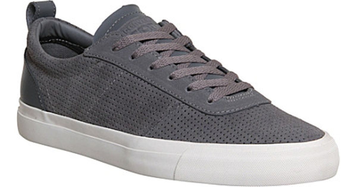 0faba82dc90a Converse Match Point Suede Trainers - For Men in Gray for Men - Lyst