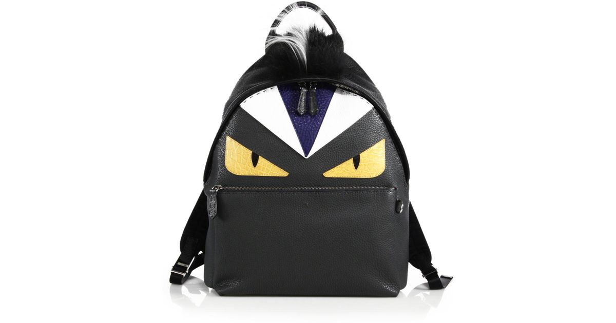 e979d4cc7e3d Backpack Fendi Monster alan-ayers.co.uk