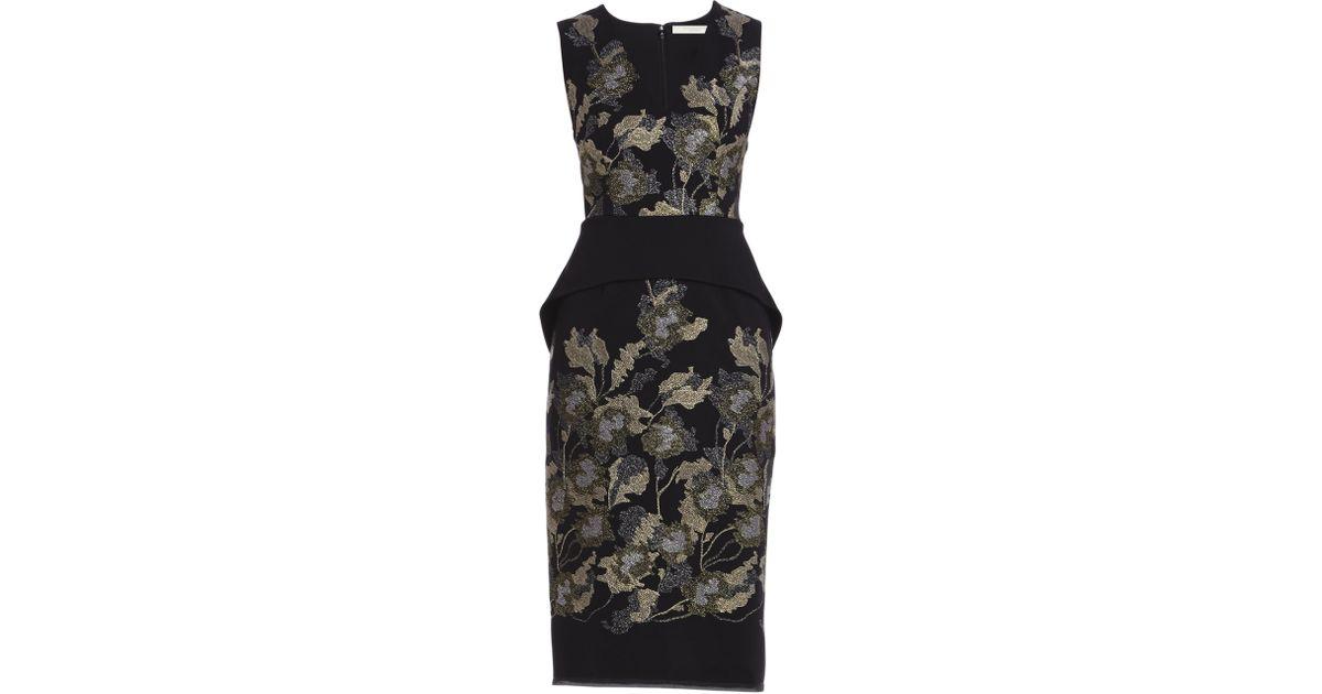 Lyst - Bcbgmaxazria Runway Rosalind Dress in Black