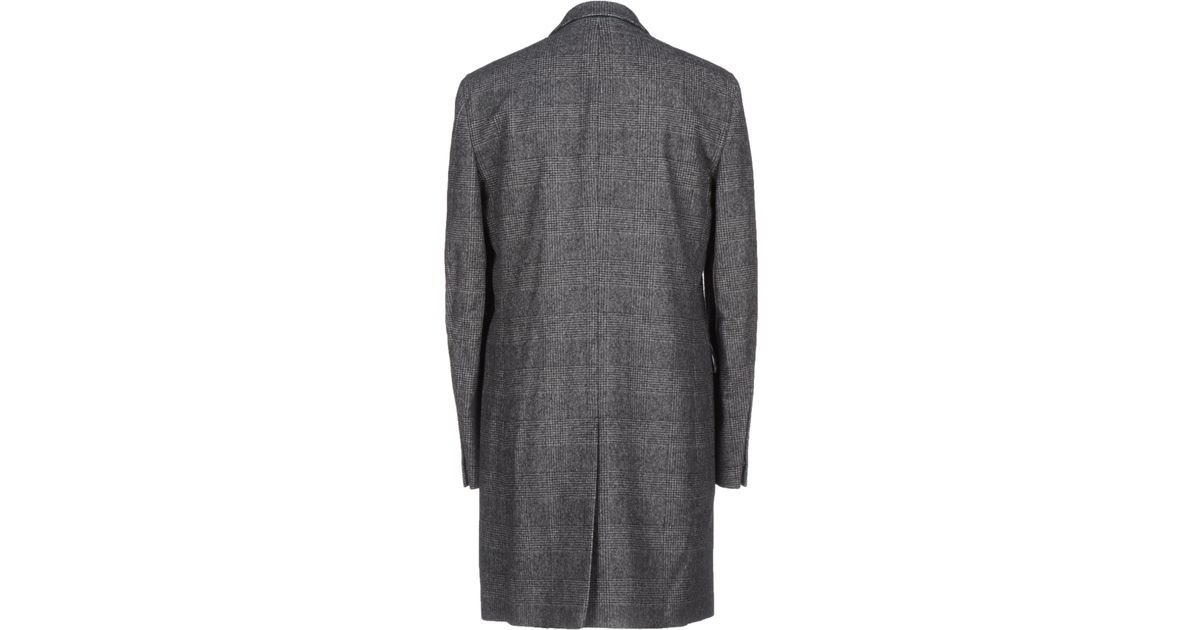b1687a3b920 Michael Bastian Coat in Gray for Men - Lyst