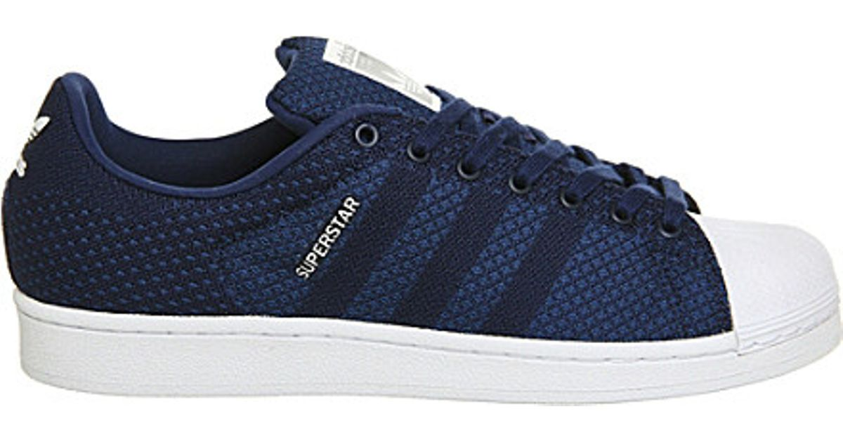 0827f735418 adidas Superstar 2 Trainers in Blue - Lyst
