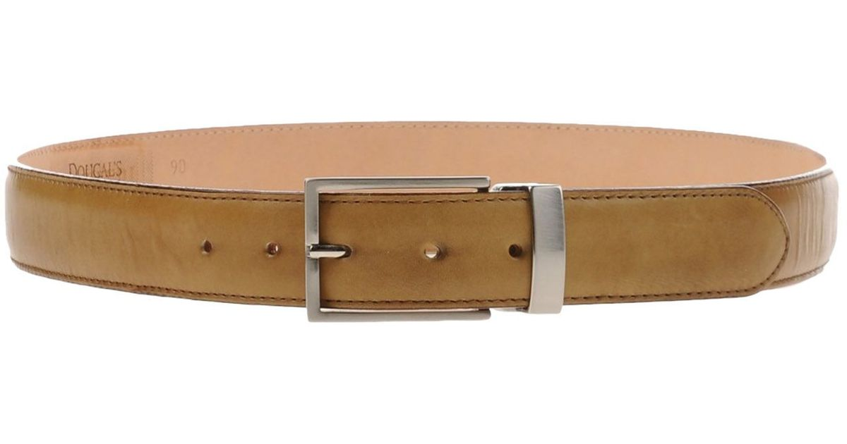 doucal s belt in brown for light brown save 24 lyst