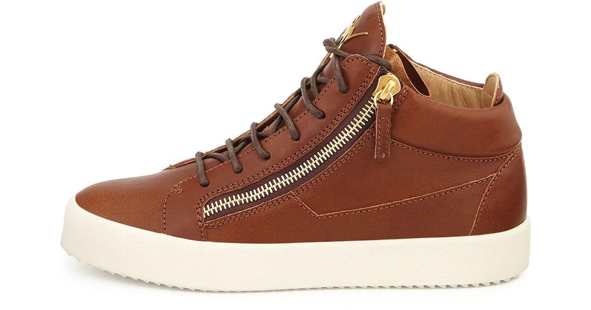 Giuseppe zanotti sneakers brown garden house lazzerini for Zanotti arredamenti