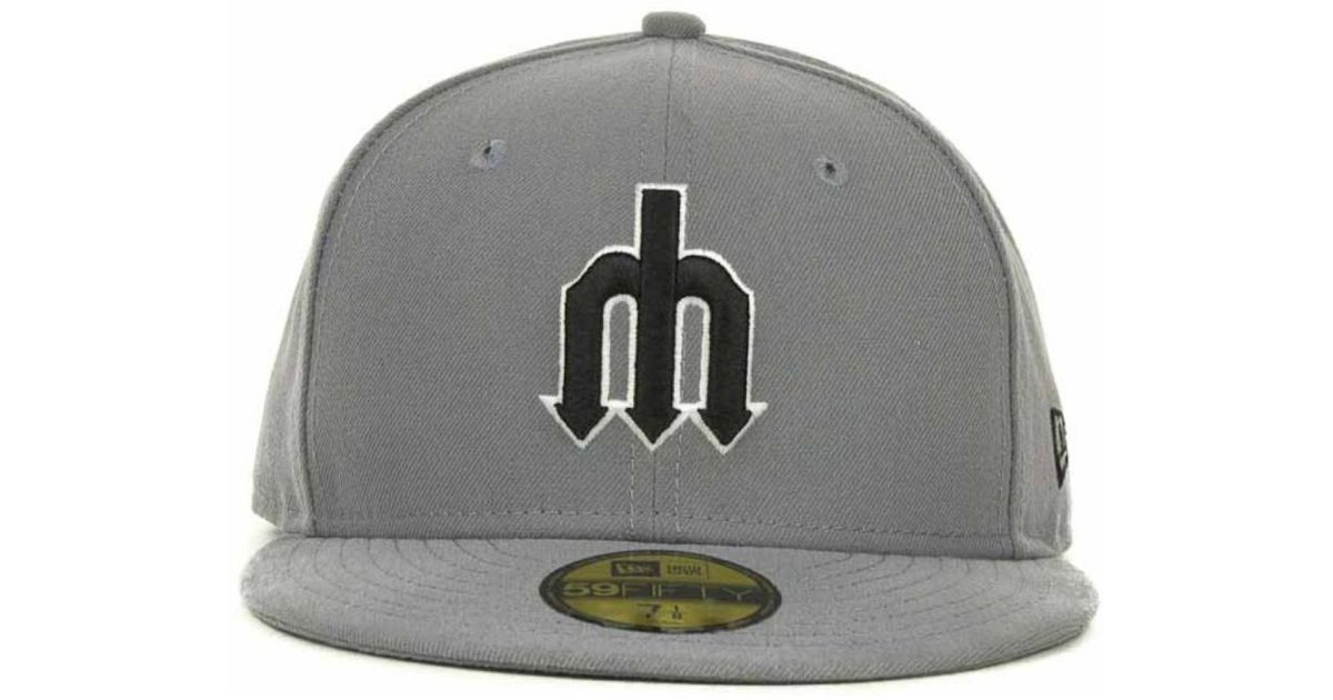 100% authentic footwear separation shoes sale really seattle mariners new era mlb gray bw 59fifty cap storm ...