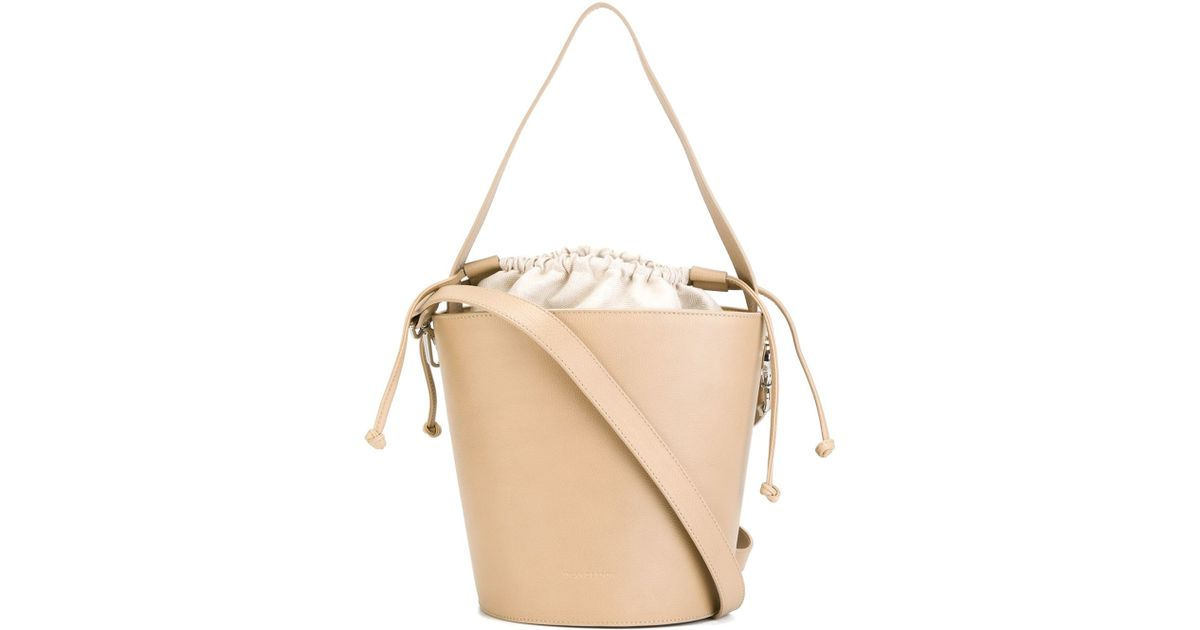 J.w.anderson Bucket Shoulder Bag in Natural | Lyst