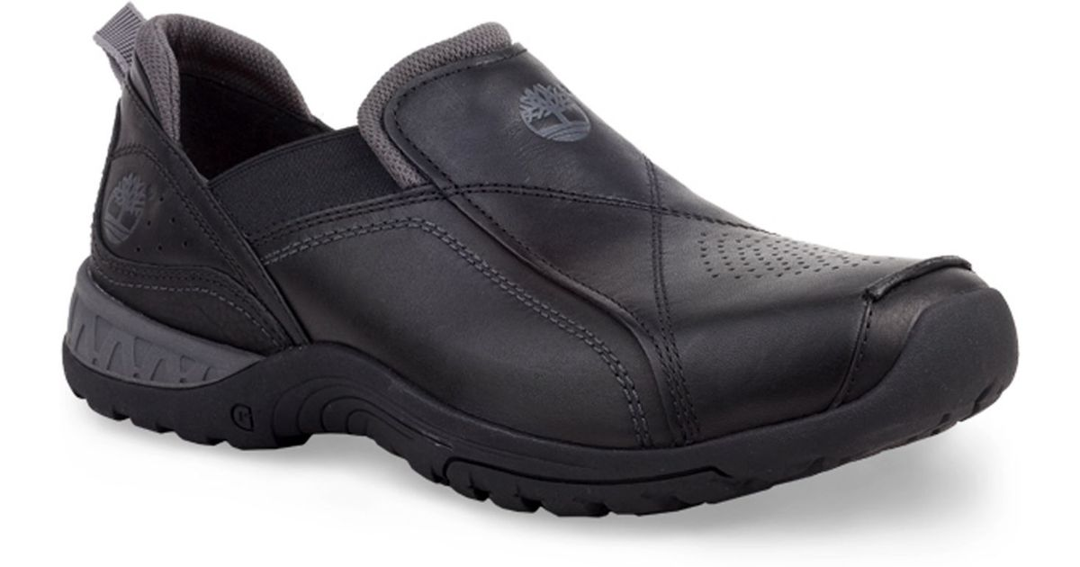 d5cedbbd5283 Lyst - Timberland Men s City Adventure Front Country Slip-on Shoes in Black  for Men