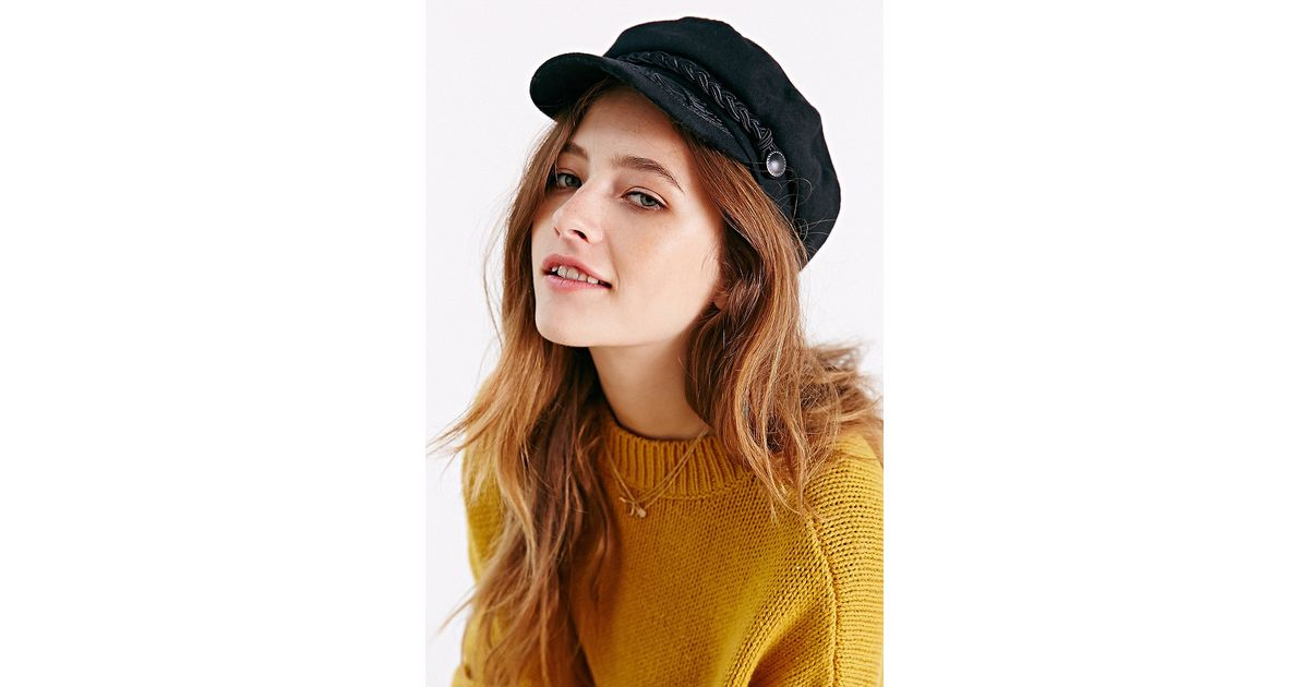 Lyst - Urban Outfitters Greek Fisherman Hat in Black 00340cf14dd8