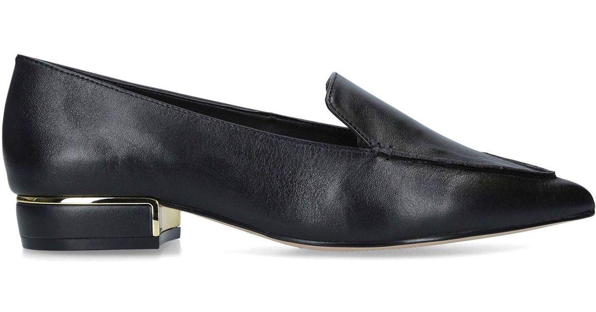 191a629223f ALDO Black  gwuryan  Slip On Loafers in Black - Lyst