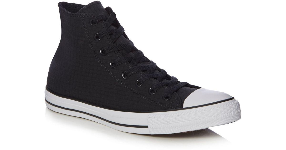 09833530dc1d95 Converse Black  chuck Taylor All Star  High-top Trainers in Black for Men -  Lyst