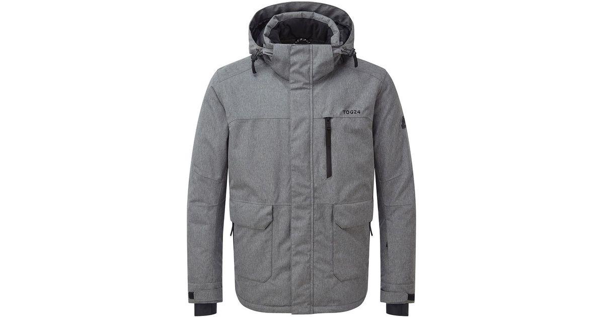 Tog 24 Grey Marl Vertigo Mens Waterproof Insulated Ski Jacket in Gray for  Men - Lyst 16695f95a