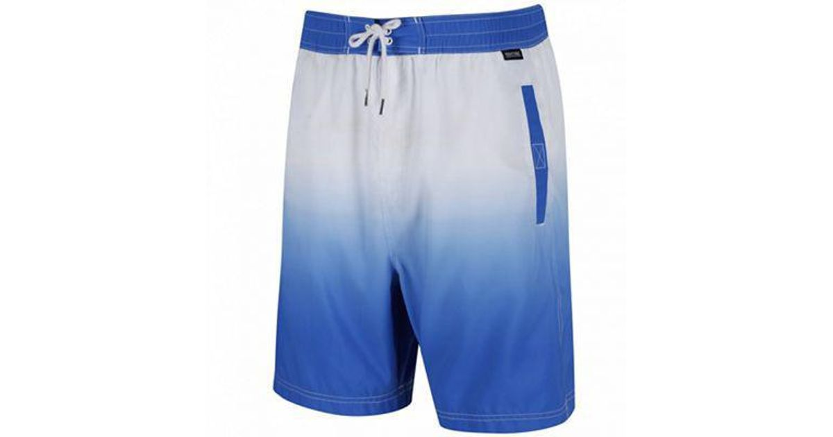 34eb8b01d2 Regatta Blue 'hadden' Swim Board Shorts in Blue for Men - Lyst