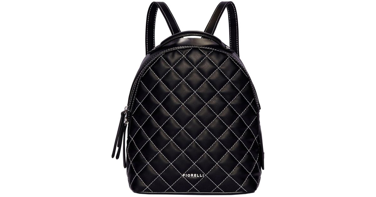 Fiorelli Black Anouk Small Backpack in Black - Lyst
