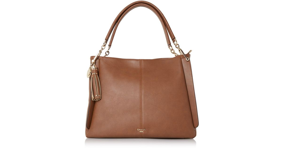 Dune Tan  disobelle  Large Slouch Shoulder Bag in Brown - Lyst d80da3447cdcb
