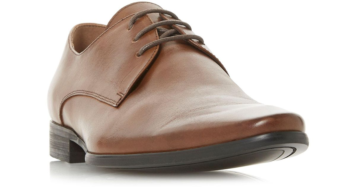 80c6f208afd Dune Brown Tan 'petrov' Gibson Lace-up Shoes for men