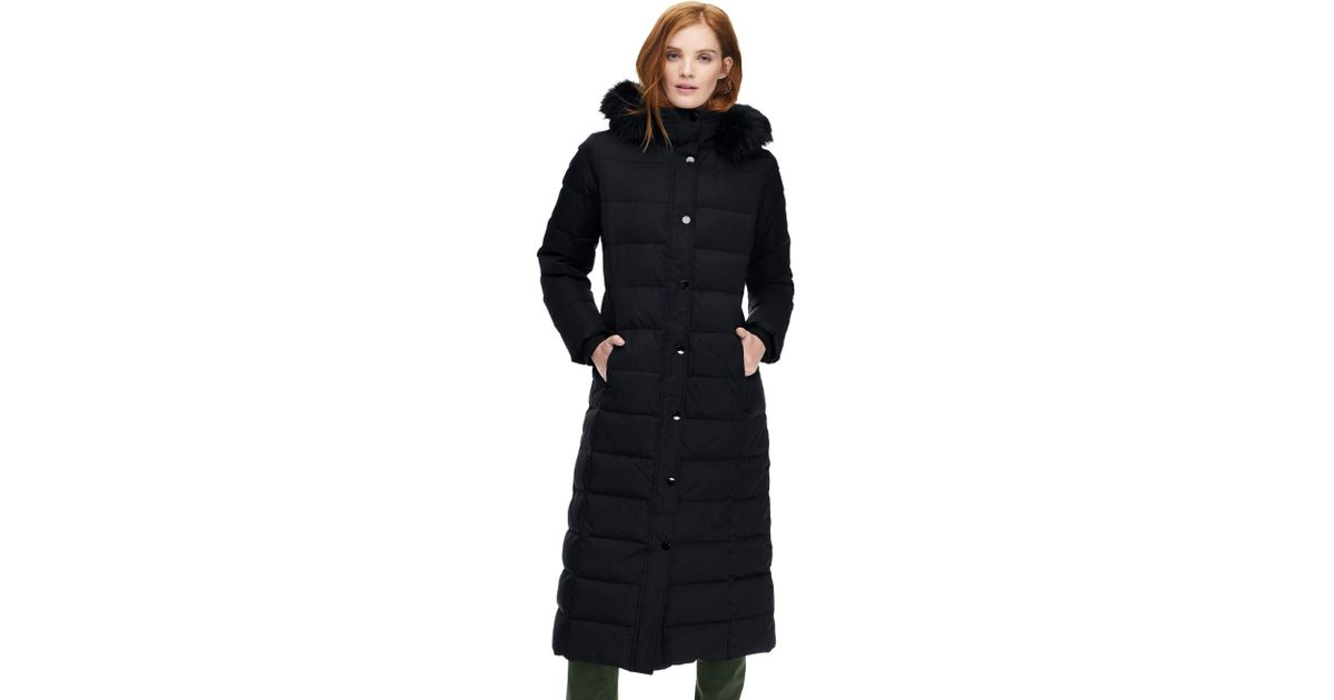 highly praised 2019 best sell big sale Lands' End Black Petite Maxi Down Coat