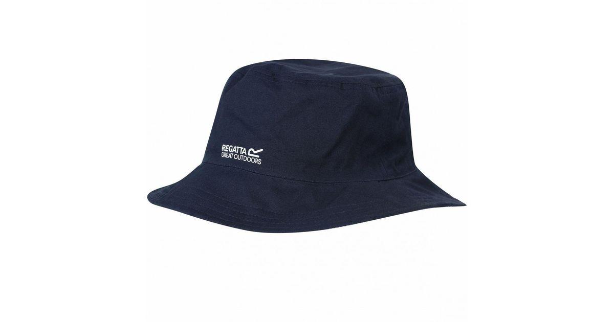 e154d948 Regatta Blue 'cagney' Sun Hat in Blue for Men - Lyst