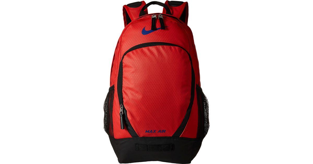 eb28e48f3e Lyst - Nike Team Training Max Air Large Backpack in Red