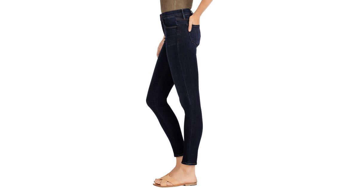 4d7620f853e9 J Brand 910 Low-rise Skinny Leg In Oblivion in Blue - Lyst