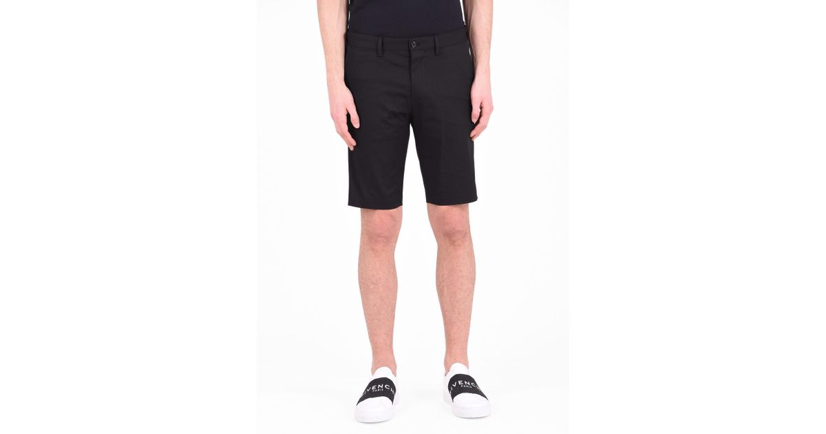 89e5a96912f5 Lyst - Dolce   Gabbana Cotton Shorts in Black for Men