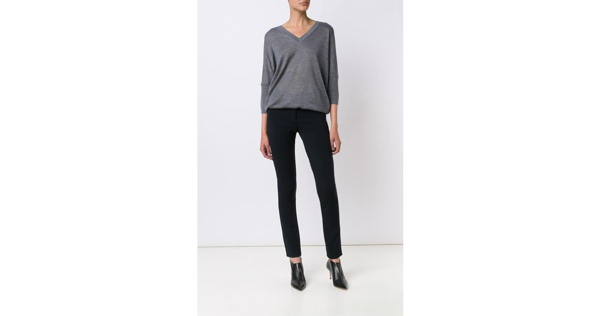 Derek Lam Skinny Trousers In Black