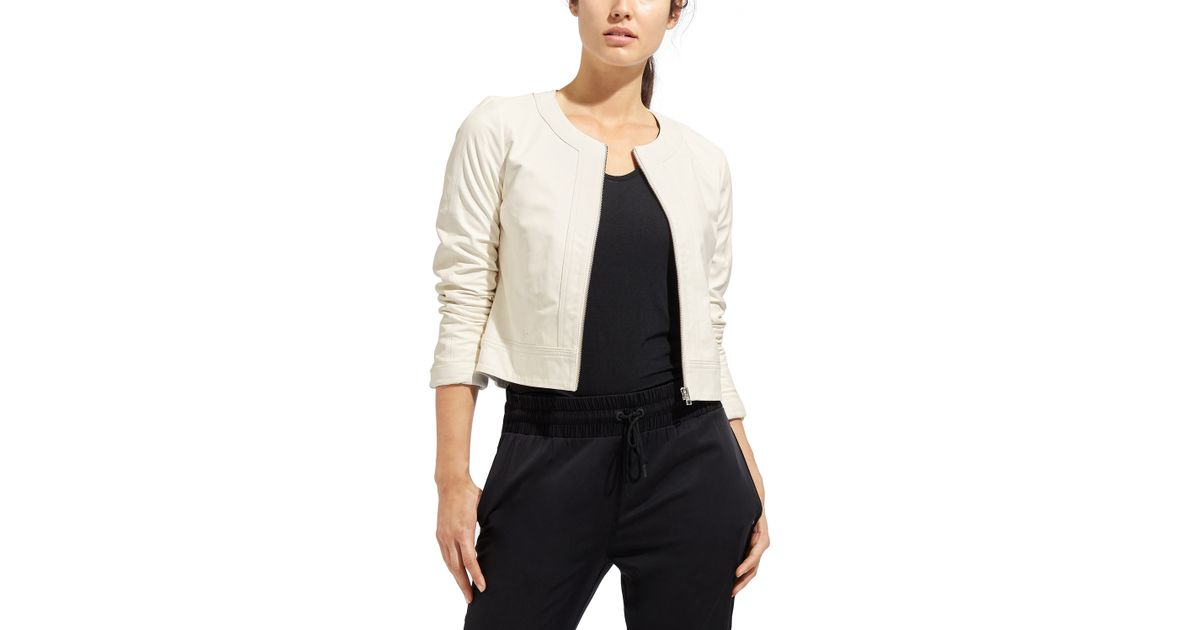 Derek Lam Sleek Leather Jacket