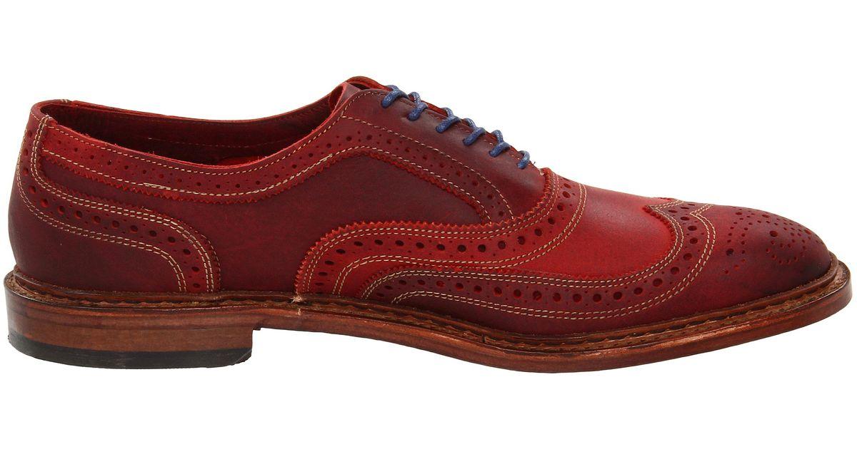 890dff11f4c Lyst - Allen Edmonds Neumok in Red for Men