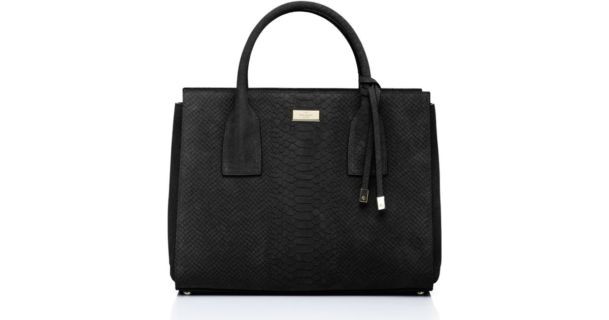 22cd6cde53 Kate Spade New York Elsie Street Exotic Meriwether in Black - Lyst