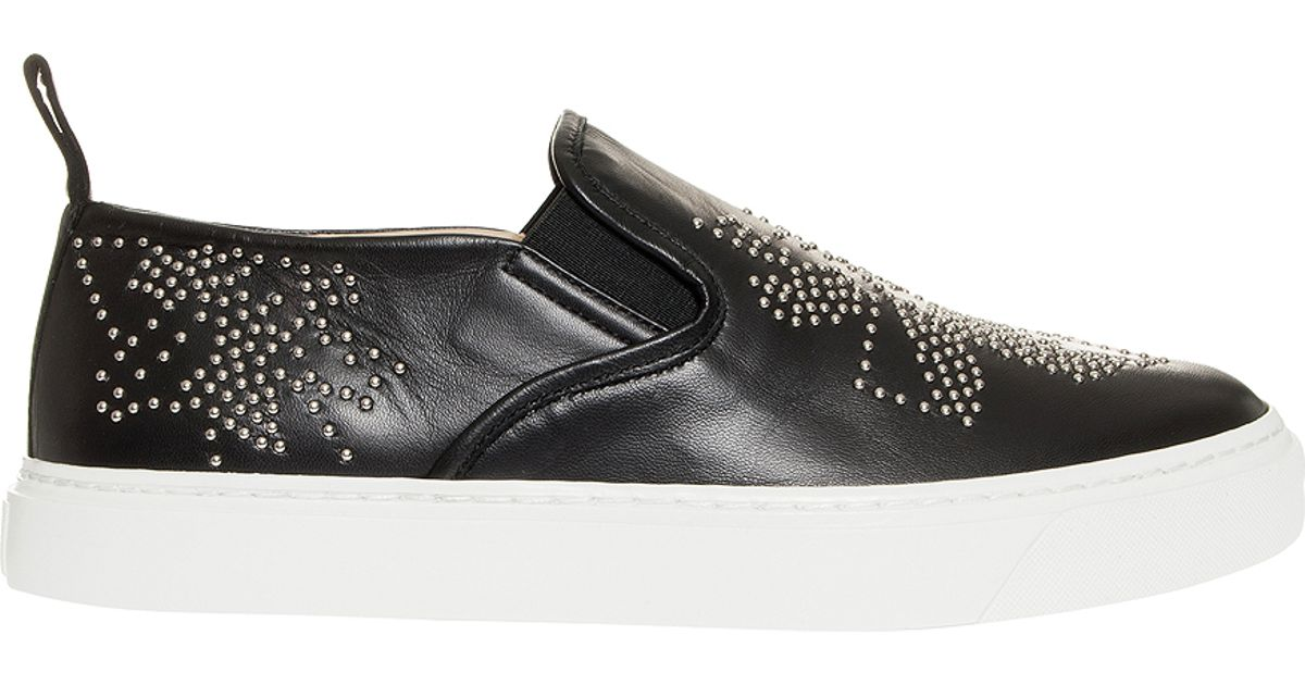 Black sneakers with studs Chlo vitHEEV