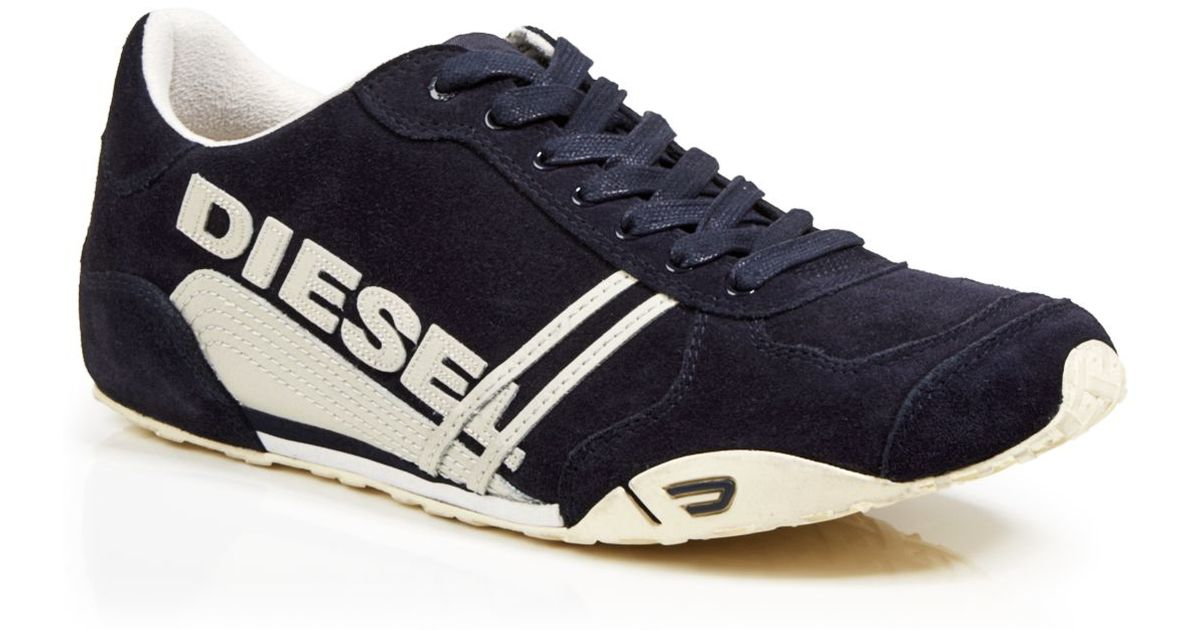 low priced 2b795 a62fa Lyst diesel harold solar suede sneakers in blue for men jpeg 1200x630 Solar  blue shoes