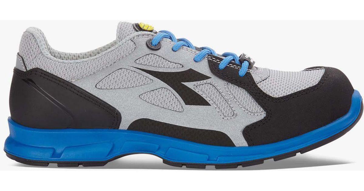 72d4d0c2 Diadora - Blue D-flex Low S1p Src Gray for Men - Lyst